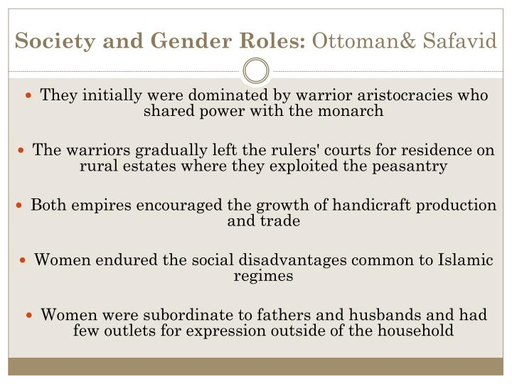 Society and Gender Roles: