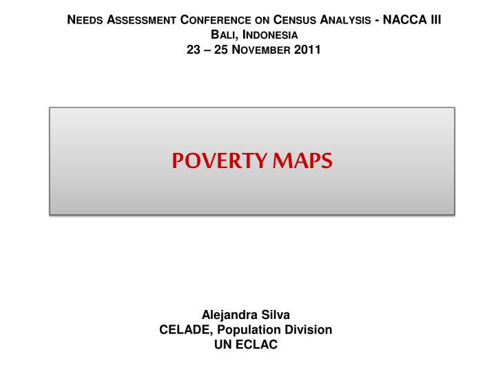 poverty maps n.