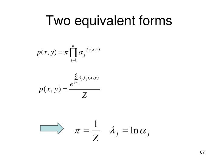 Two equivalent forms