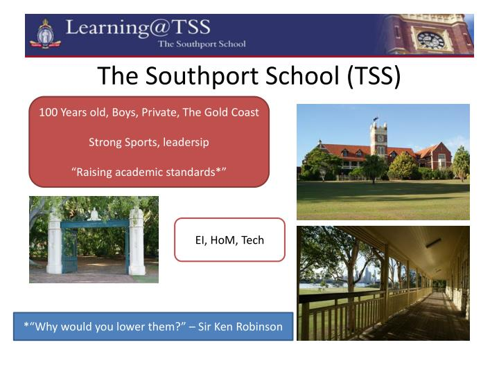 The southport school tss