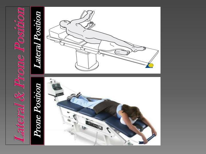 Lateral & Prone Position