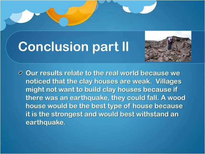 Conclusion part