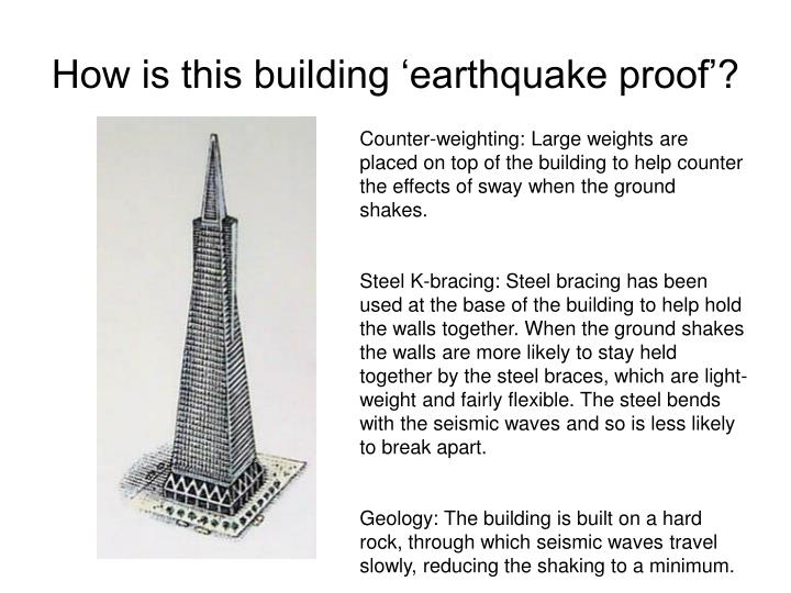 Ppt Earthquake Proof Buildings Powerpoint Presentation