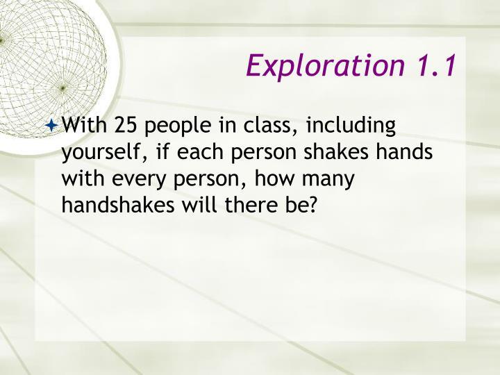 Exploration 1 1