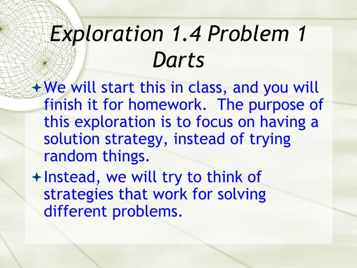 Exploration 1.4 Problem 1