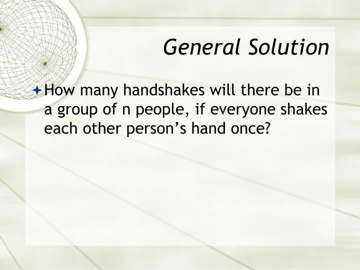 General Solution