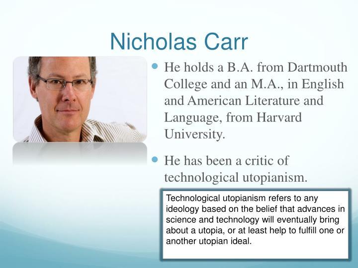 Nicholas carr1
