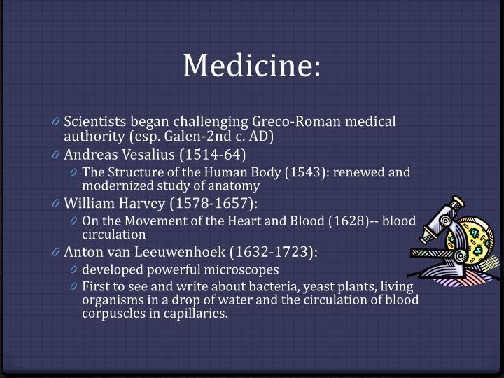 Medicine: