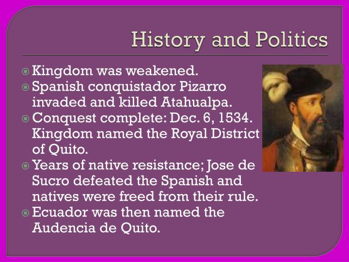 History and politics1