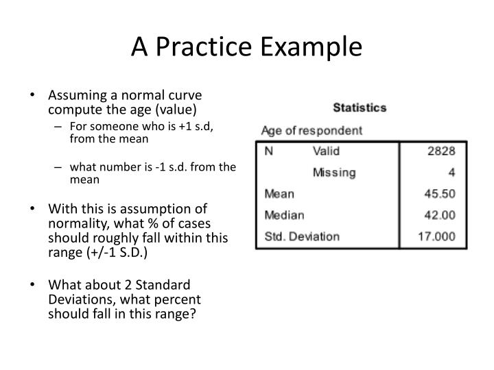 A Practice Example