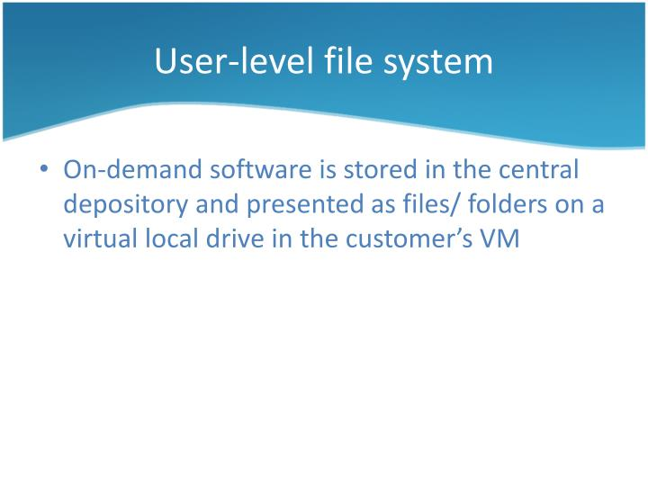 User-level