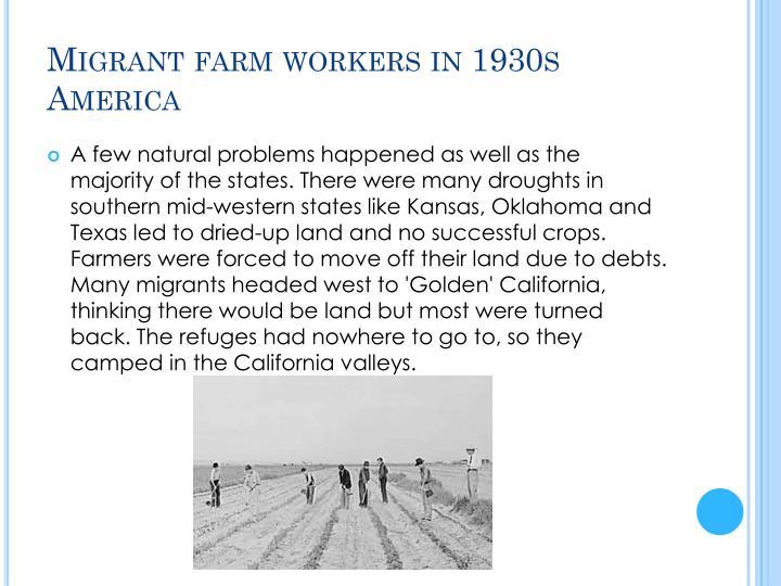 Migrant farm