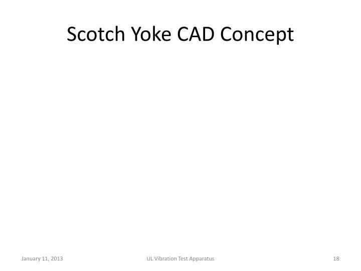 Scotch Yoke CAD Concept