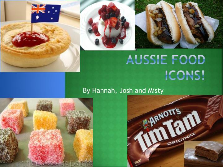 Aussie food icons