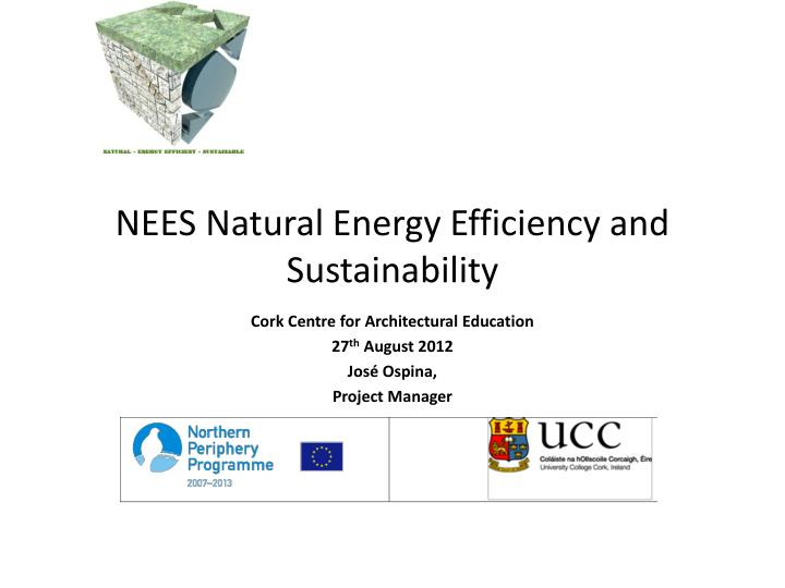 nees natural energy efficiency and sustainability n.