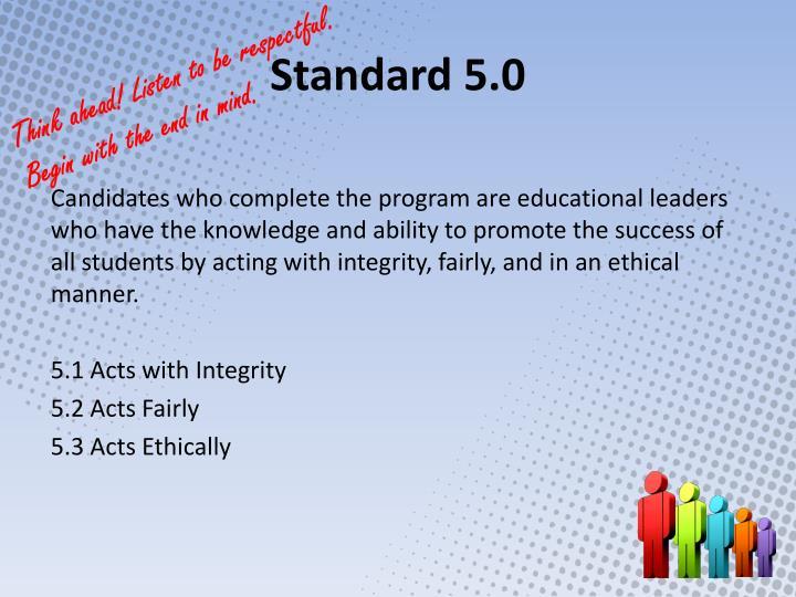 Standard 5.0
