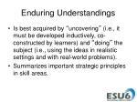enduring understandings1