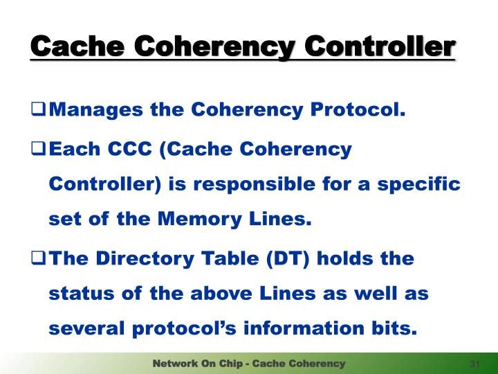Cache Coherency Controller