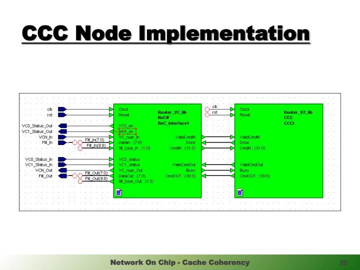 CCC Node Implementation