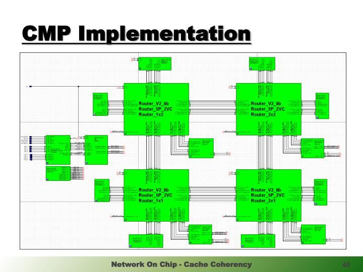 CMP Implementation