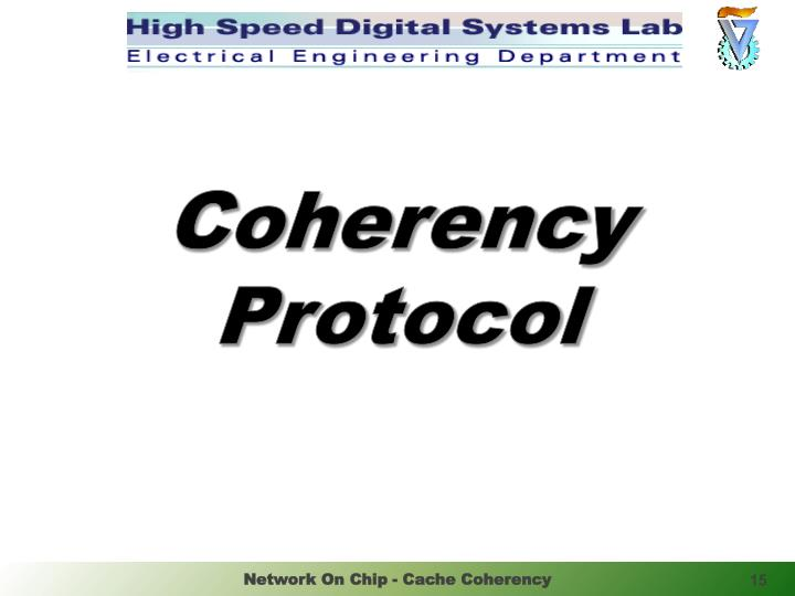 Coherency Protocol