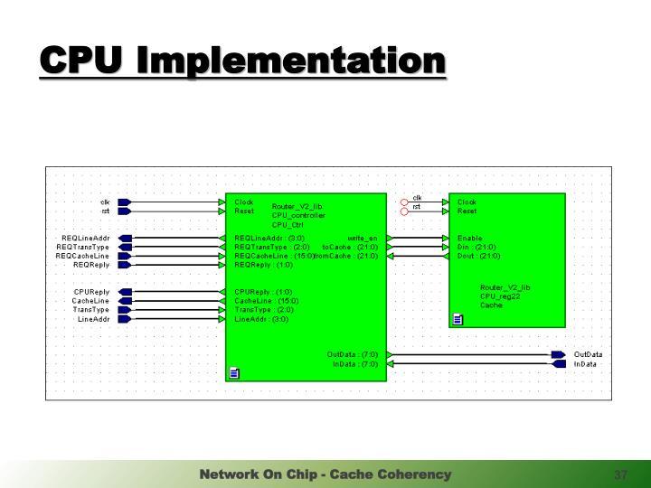 CPU Implementation