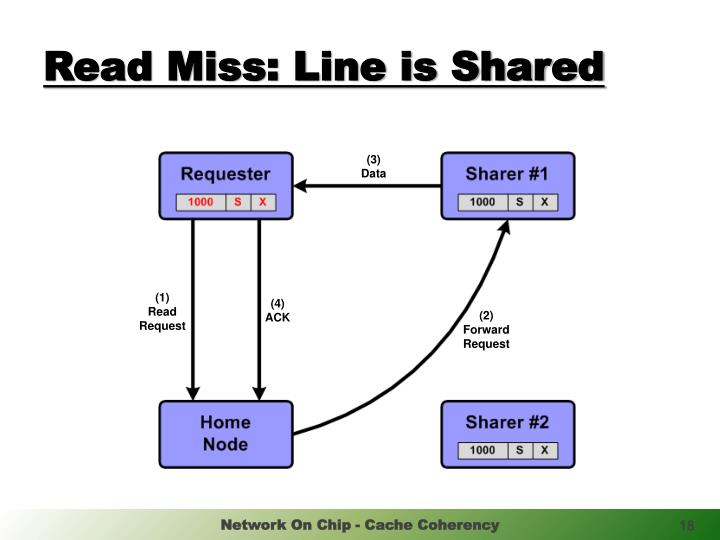 Read Miss: Line is Shared