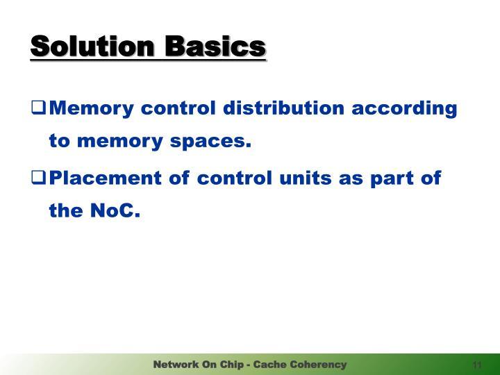 Solution Basics