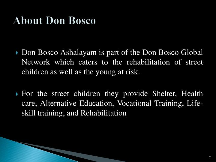 About don bosco