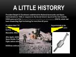 a little historry