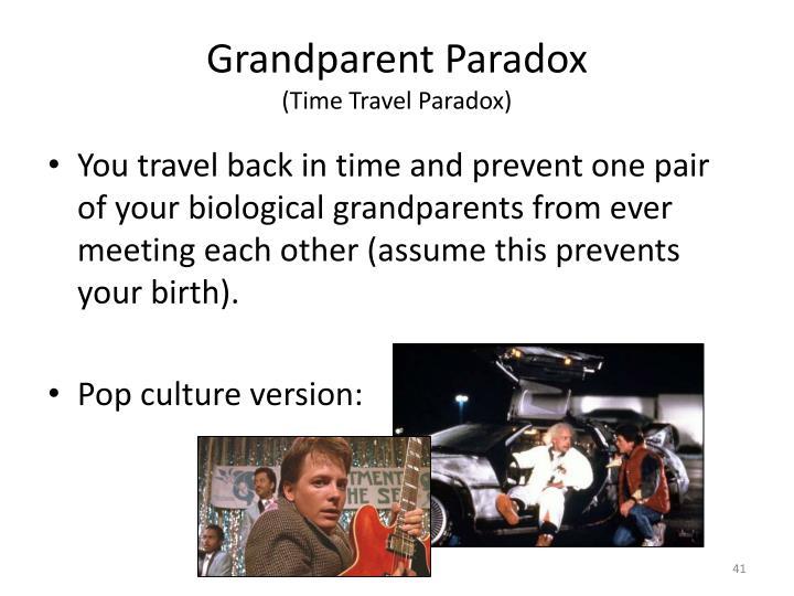 Grandparent Paradox