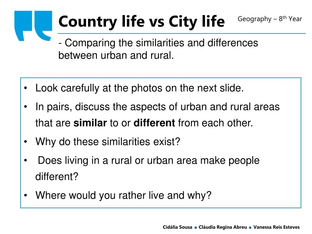 cost of living in the city vs country