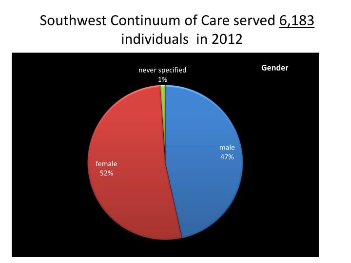 Southwest Continuum of Care served