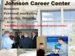 johnson career center