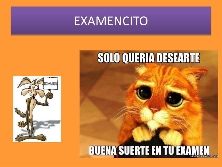 Examencito