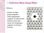 1 definition black sheep effekt