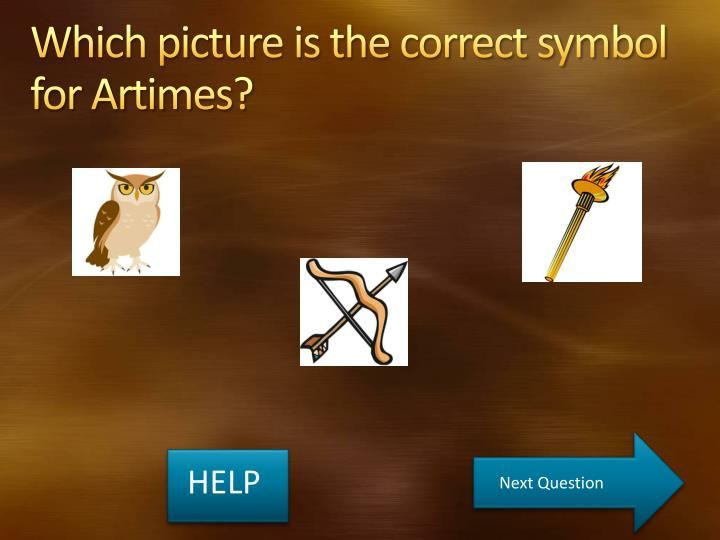 Which picture is the correct symbol for Artimes?
