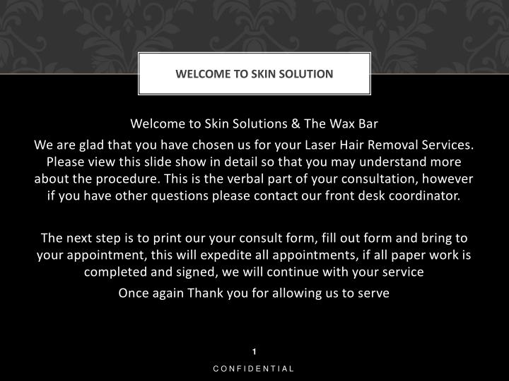 welcome to skin solution n.