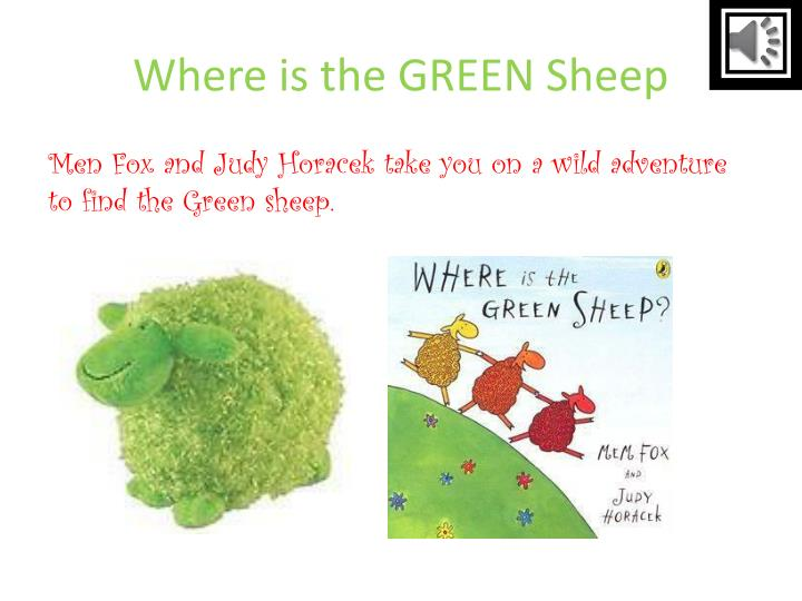 where is the green sheep n.