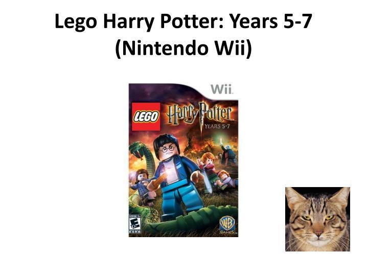 Lego Harry Potter: Years 5-7 (Nintendo Wii)
