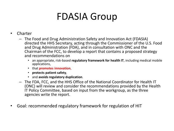 Fdasia group