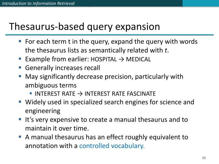Thesaurus-