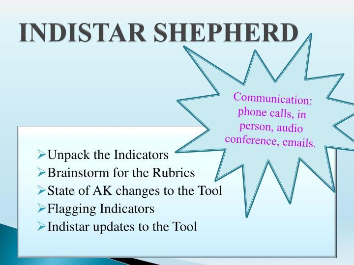 INDISTAR SHEPHERD
