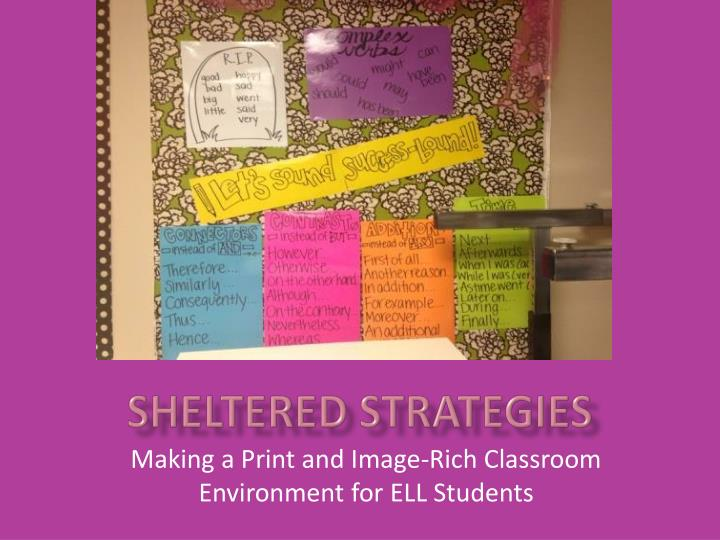 sheltered strategies n.