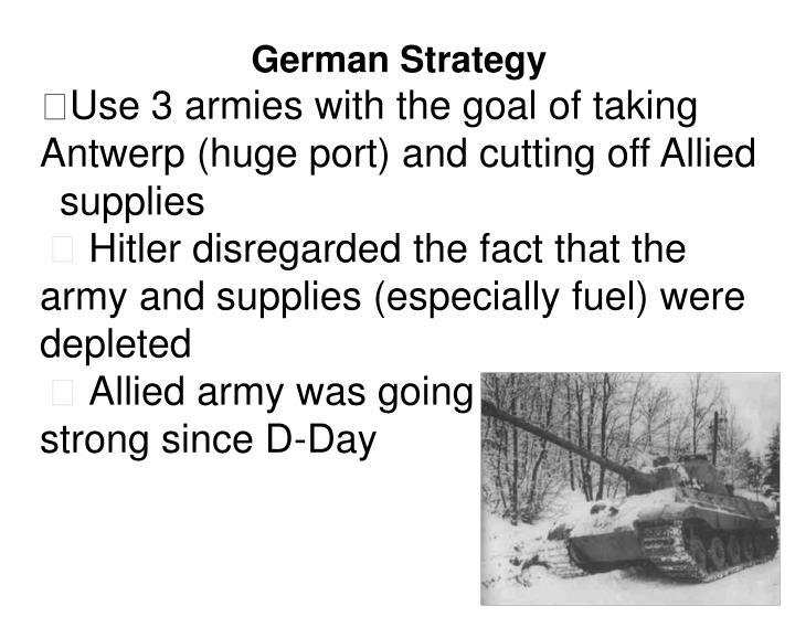German Strategy