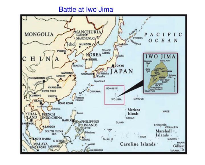 Battle at Iwo Jima