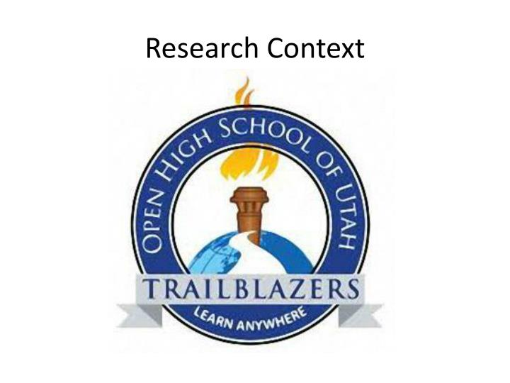 Research Context
