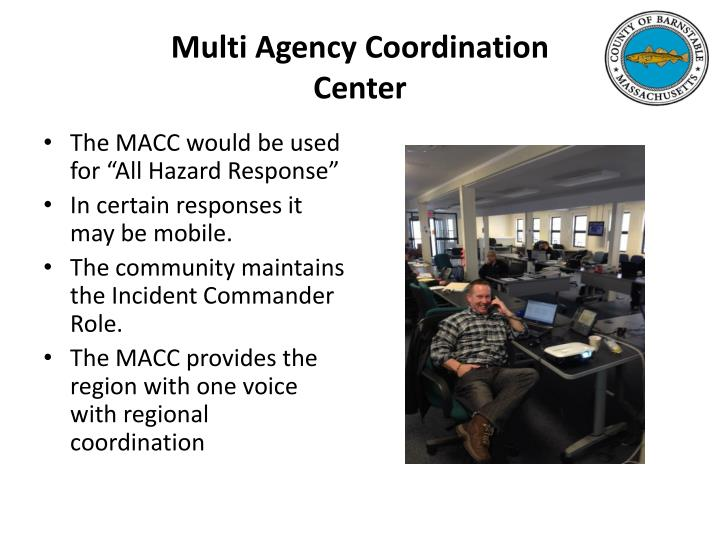Multi Agency Coordination