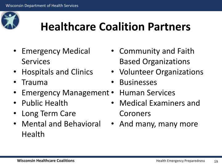 Healthcare Coalition Partners