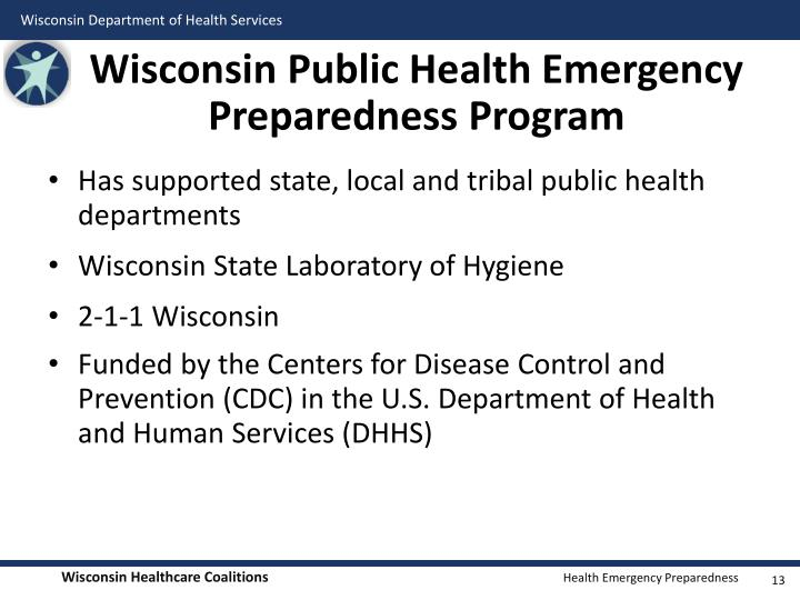 Wisconsin Public Health Emergency Preparedness Program